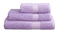 Lilac 100% Cotton Turkish Ringspun Towel 500 Gsm